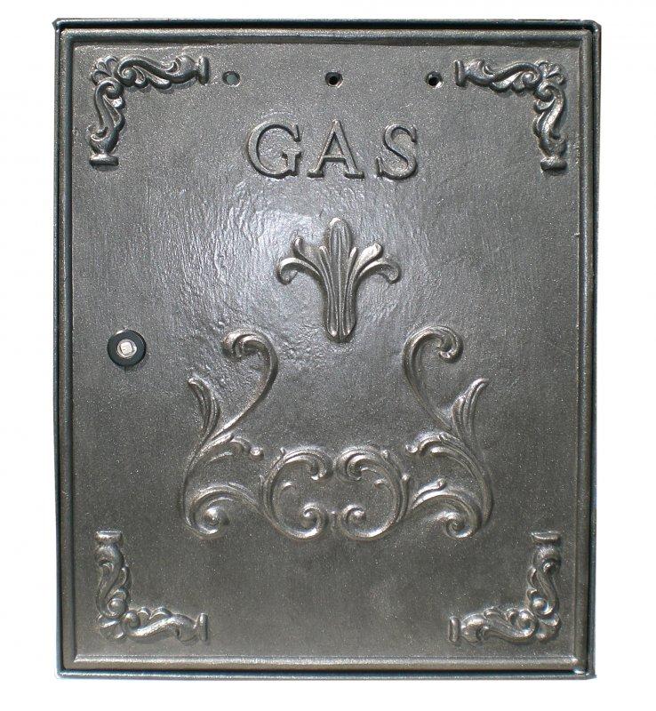 Sportello contatore Gas/Metano in alluminio 40x50 cm
