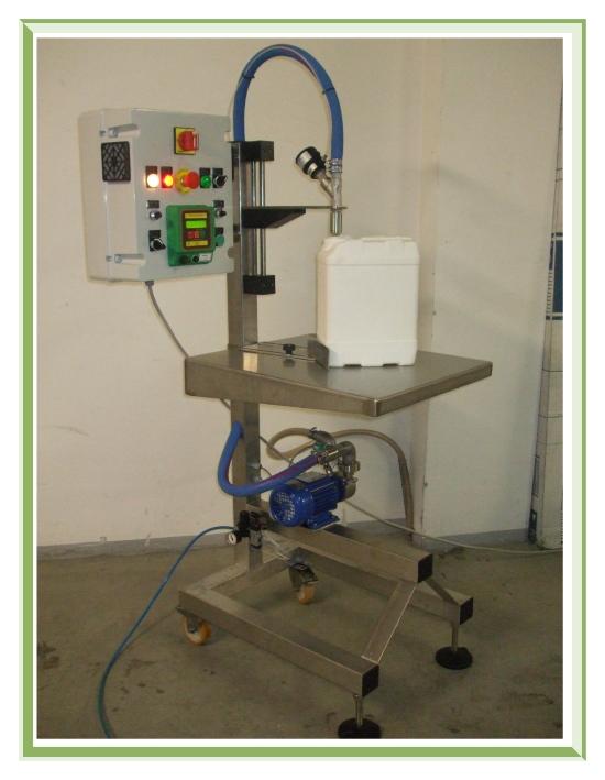 Compro Riempitrice semiautomatica per prodotti chimici e cosmetici