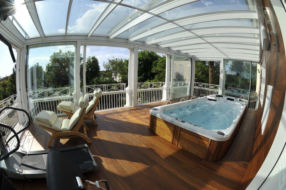 Acquistare Minipiscine nuoto controcorrente idromassaggi spa da esterno