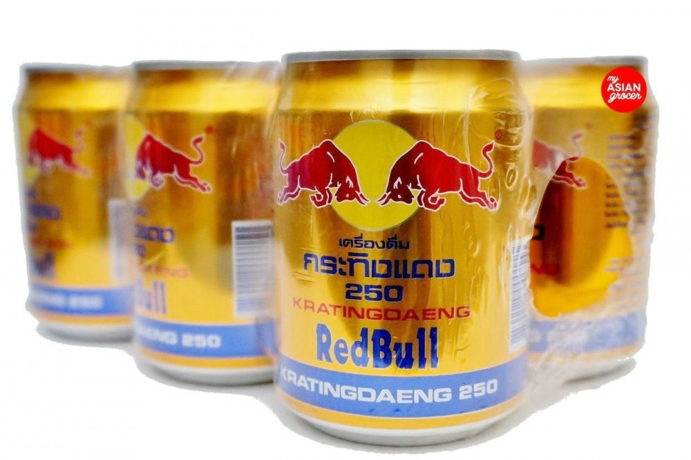 Compro Thailand and Austria Redbull Energy drink