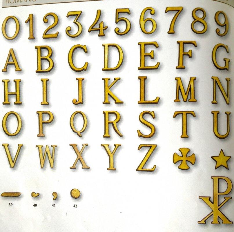 Acquistare Буквы из бронзы. Бронзовая фурнитура. Изделия из бронзы.
