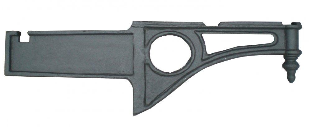Mensola, Gattone o sottobalcone  Ornamentale in ghisa Lunghezza cm 100 cm