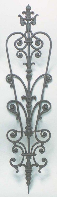 Elemento ringhiera per balconi Altezza 86 cm Larghezza 23 cm