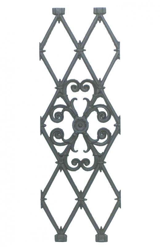 Acquistare Elementi per ringhiera in ghisa Altezza 85 cm lunghezza 30cm