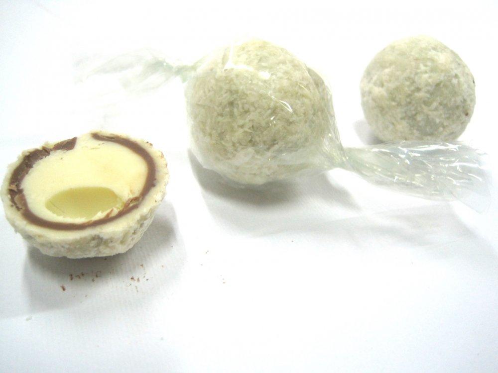 Acquistare Tartufata con cioccolato bianco e cocco