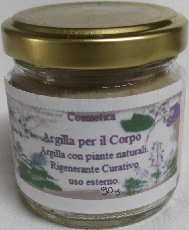 Argilla per cellulite
