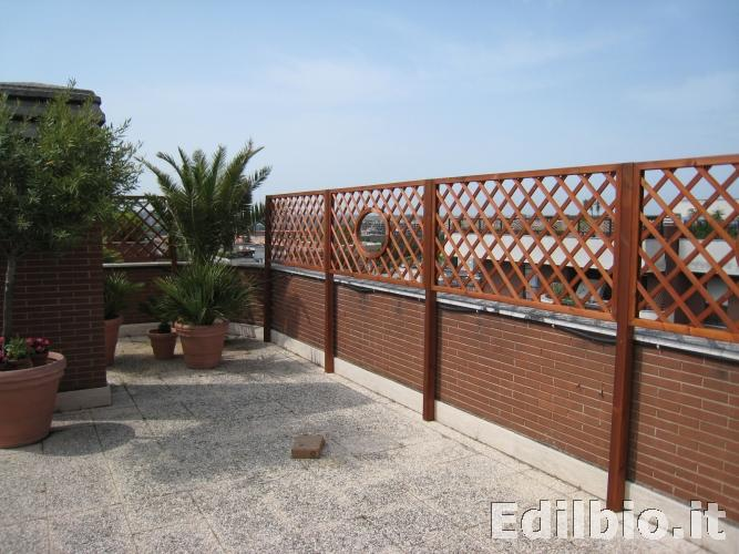 Emejing recinzioni per terrazzi ideas idee arredamento casa