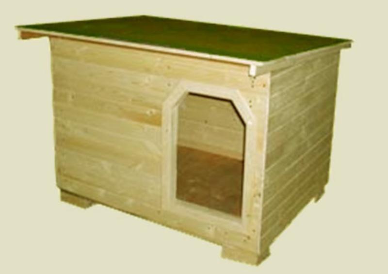 Cuccia Igor Large Con Tendina In Legno - Per Cani Di Taglia Grande