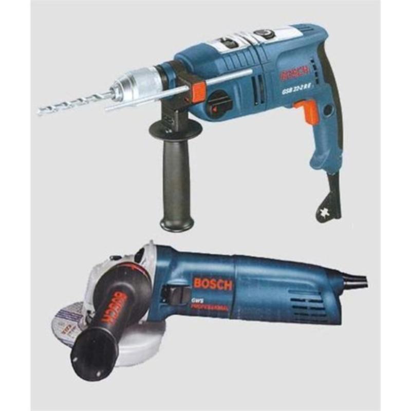 Kit Trapano Bosch GSB 22-2RE E Smerigliatrice GWS 7-115