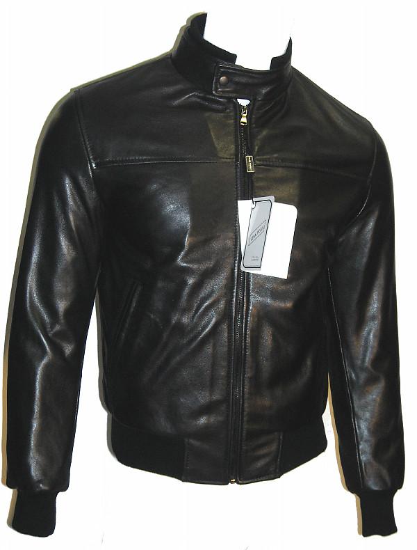 wholesale dealer 0a9c9 f09c4 Giubbotto MODA Uomo Slim Fit Vera pelle