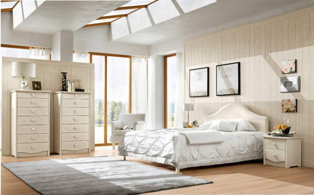 Camera matrimoniale in legno massello — comprare camera ...