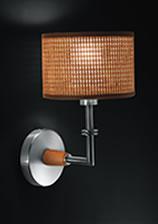 Acquistare Lampada da parete Aba Hi-Tech, Paglia di Vienna