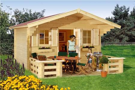 Casa in legno con veranda — Comprare Casa in legno con veranda, Prezzo , Foto Casa in legno con ...