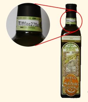 "Compro Olio extravergine di oliva ""tracciato"""