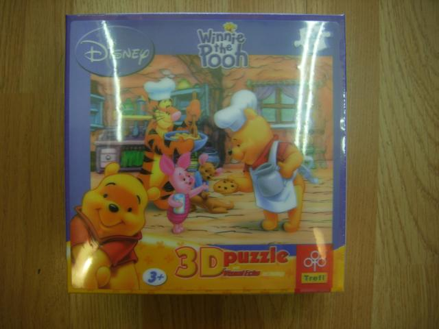 PUZZLE 3 D WINNIE THE POOH
