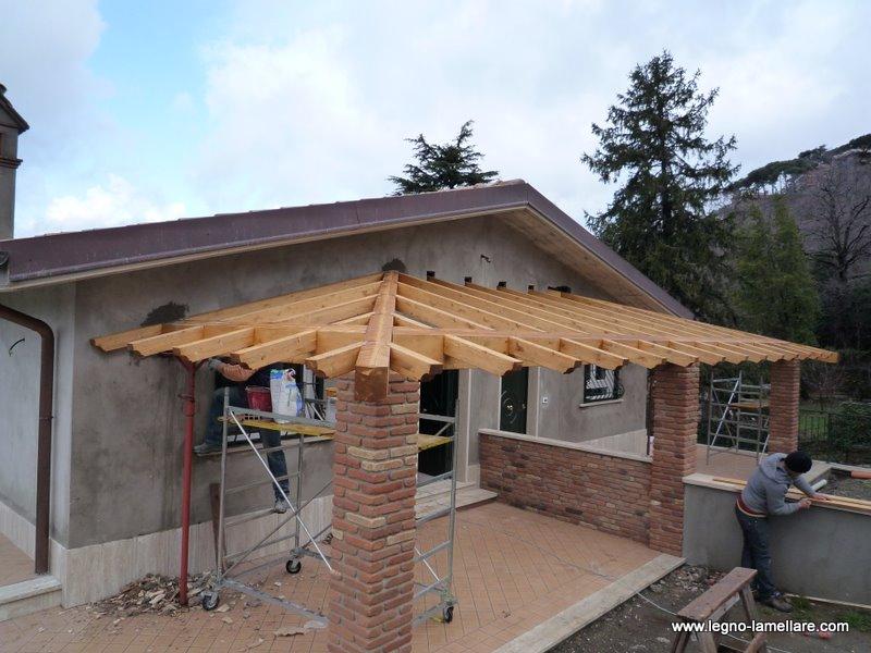 Portico in legno lamellare — Comprare Portico in legno lamellare, Prezzo , Foto Portico in legno ...