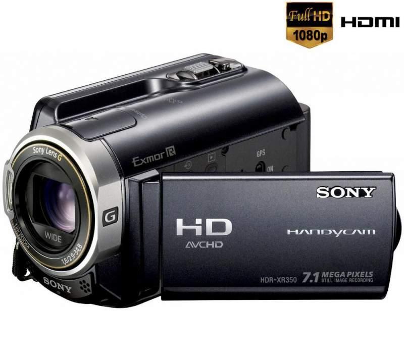 Acquistare Sony Videocamera Alta Definizione HDR-XR350VE