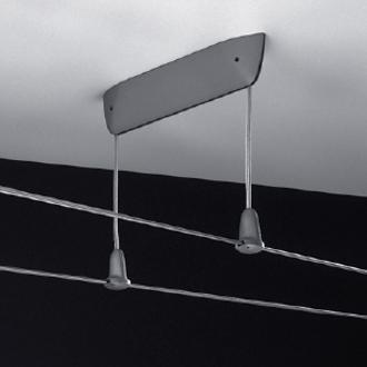 Acquistare Lampade sistemi su cavi - NEMO-CASSINA: BRIDGE ALIMENTATORE DA SOFFITTO