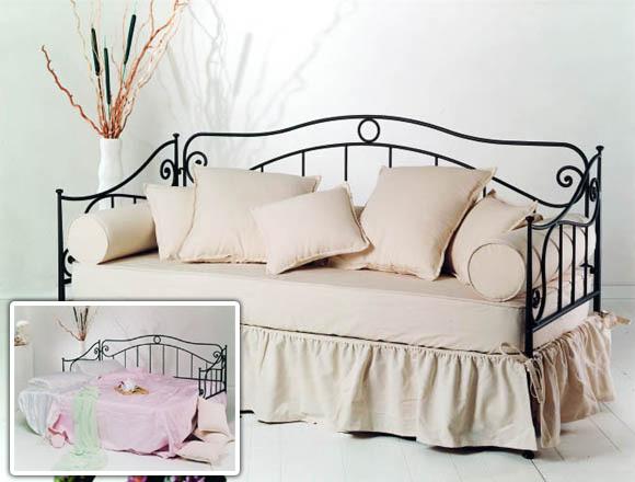 Divano letto in ferro battuto buy in Santarcangelo di Romagna on ...