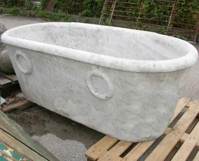 Vasche Da Bagno Antiche Prezzi : Vasca in marmo da giardino