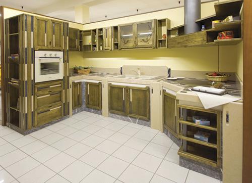 Cucina in muratura Modello - GRETA buy in Roma on Italiano