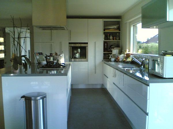 Cucina moderna eden in rovere grigio
