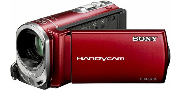 Acquistare HANDYCAM DCR-SX34E ZOOM 60X