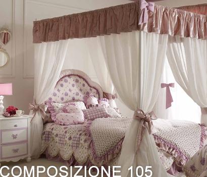 Camerette Con Letto A Baldacchino.Cameretta Orleans Comp 105 Buy In Pontedera On Italiano