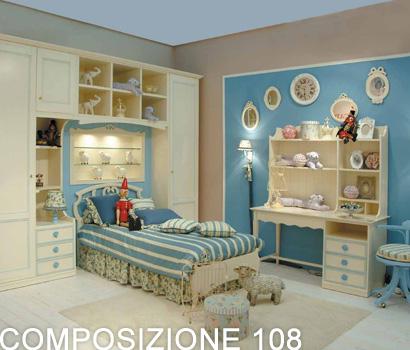 Acquistare Cameretta Orleans comp.108