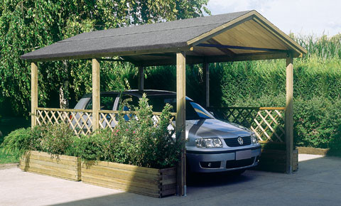 Acquistare Soleado copertura legno