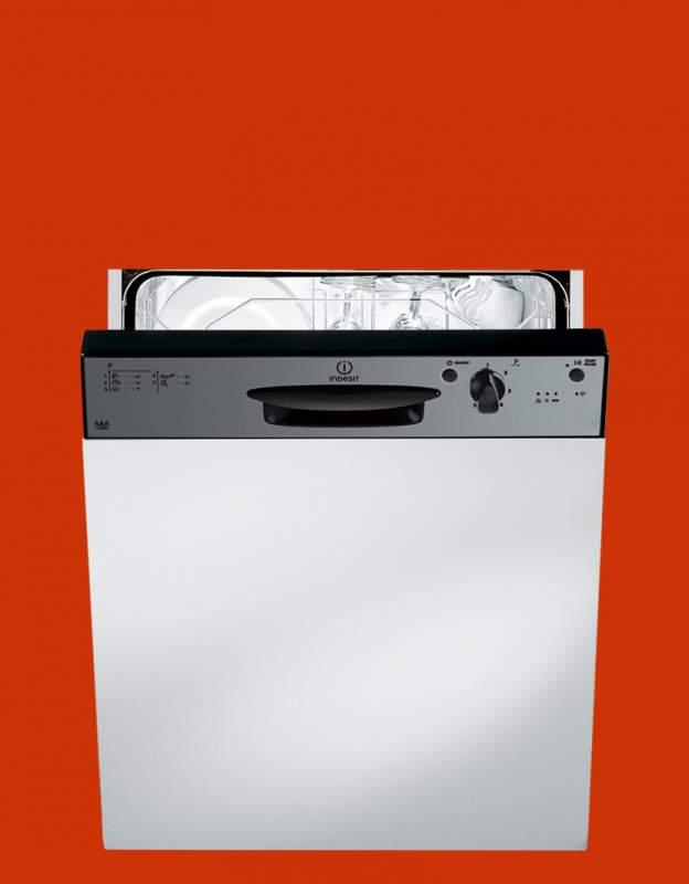 INDESIT DPG15IX lavastoviglie da incasso scomparsa parziale ...