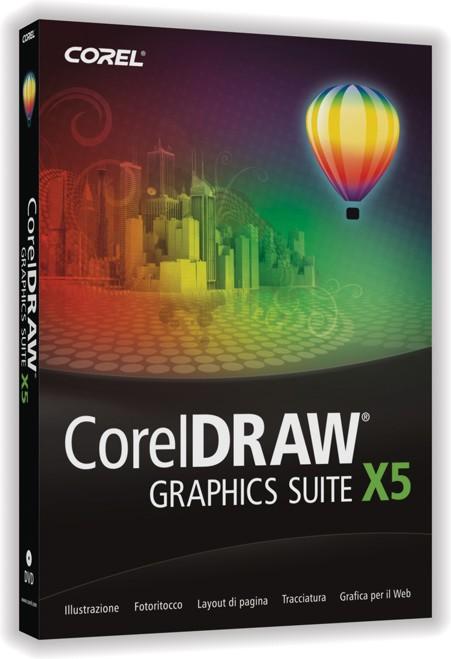 Acquistare CorelDRAW Graphics Suite X5 Aggiornamento Italiano