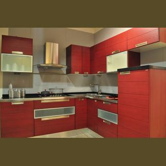 Cucina rossa laccata — Comprare Cucina rossa laccata, Prezzo ...