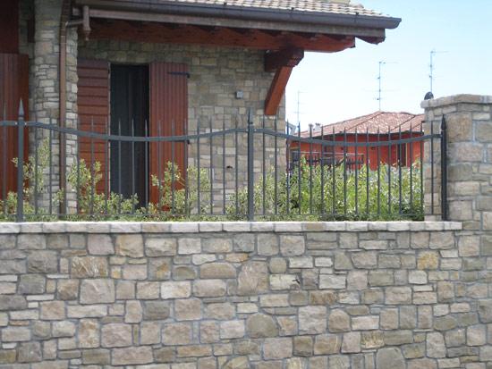 Recinzioni In Ferro Per Giardino.Recinzione Ferro Cheap Recinzione In Ferro Modello B With