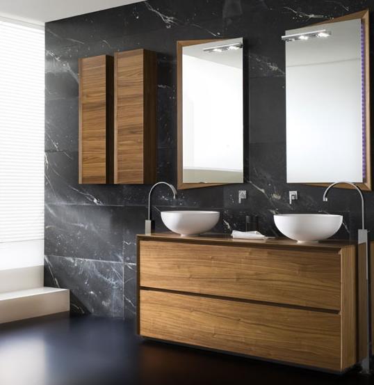arredo bagno in legno naturale mobili per bagno in legno iroko comprare mobili per
