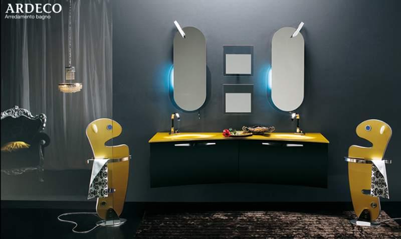 bagno con lavabo doppio mobile per stanza da bagno modello con doppio lavabo comprare
