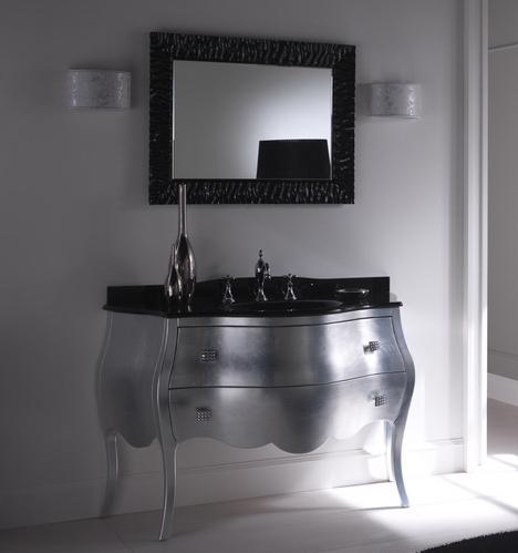Arredo bagno in stile \'800, colore argento buy in Rimini on Italiano