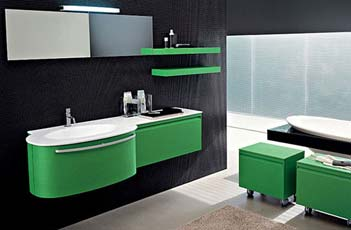 Mobile Bagno Color Crema : Foto immagine mobili bagno moderni da a cm bagno italia