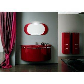 Arredo bagno rosso laccato buy in Taranto on Italiano
