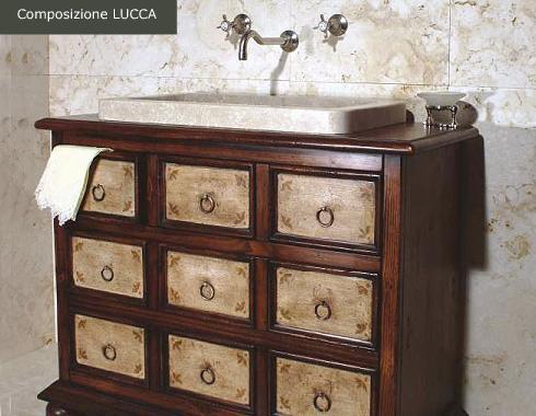 Arredo bagno in pietra naturale Lucca — Comprare Arredo bagno in ...