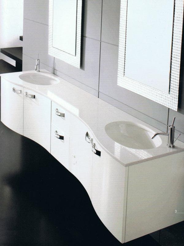 Arredo bagno bianco laccato — Comprare Arredo bagno bianco laccato ...