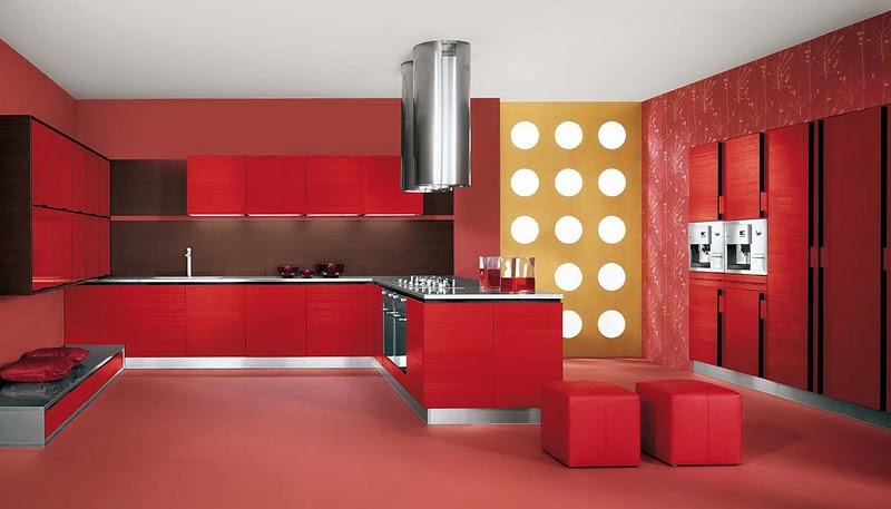 Cucina rossa laccata buy in Bergamo on Italiano