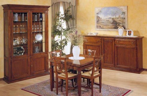Soggiorno in stile classico, realizzato in faggio buy in Siziano on ...