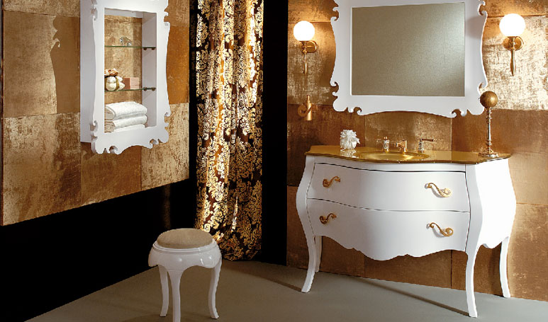 Mobili da bagno in stile \'800 buy in Erba on Italiano