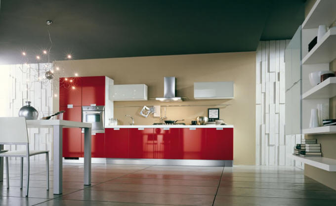 Cucine Moderne Rosse. Awesome Beautiful Colori Per Cucina Moderna ...