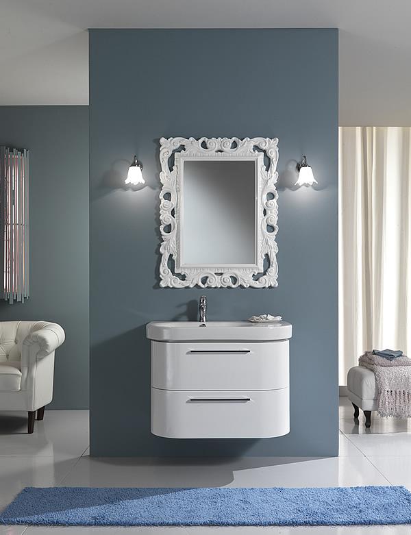 specchiere bagno moderne. arco bagno specchio da parete moderno ... - Specchi X Bagni Moderni