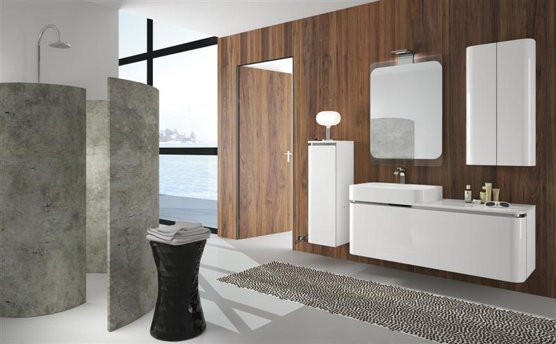 Arredo bagno bianco laccato buy in Teolo on Italiano