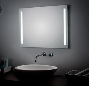 SPECCHIO ILLUMINATO con lampade T5 buy in Tradate on Italiano