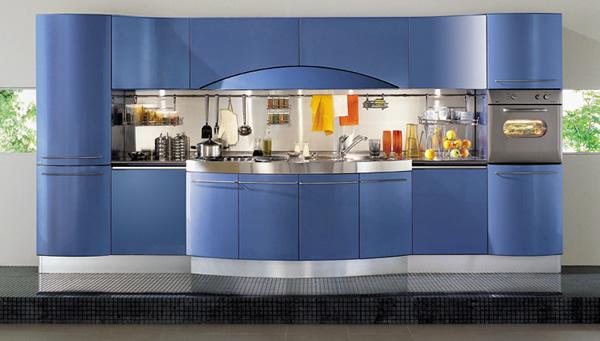 Cucina modello Ola blu di Snaidero buy in Zogno on Italiano