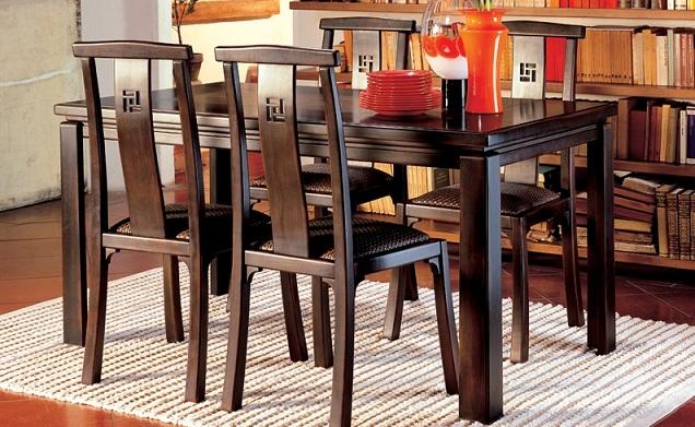 Tavolo rettangolare allungabile Oasi Bambù buy in Valeggio sul ...